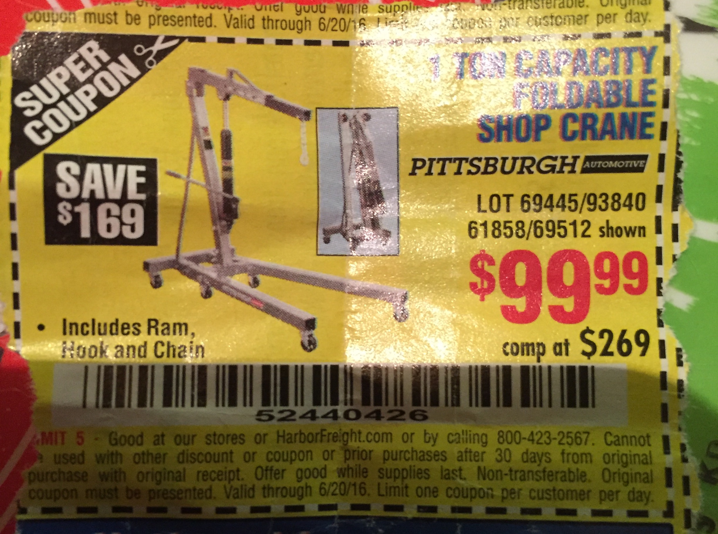 Harbor freight coupon thread page 420 the garage journal board there are better quality ones out there if you use the coupon tools search on hfqpdb fandeluxe Images