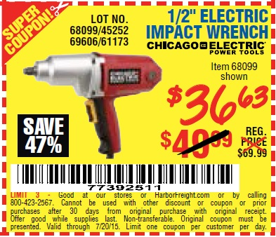 Harbor freight impact wrench coupon code / Coupons for old spice