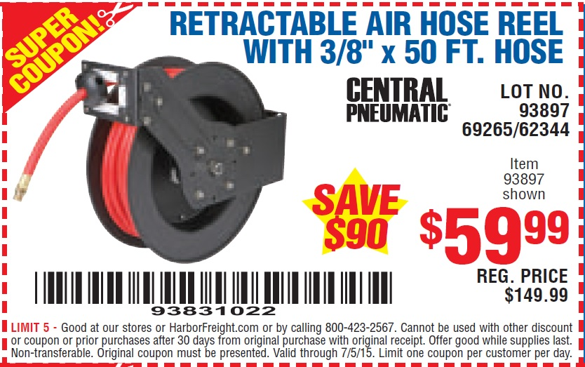 Hose 22 coupons