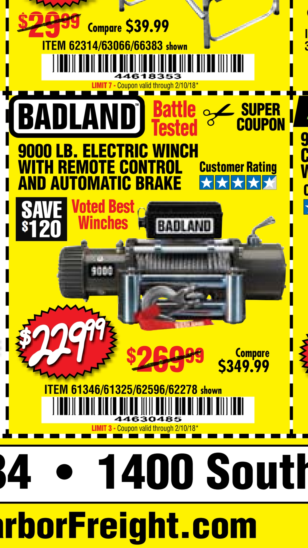Badland (Harbor Freight) winch - Page 2 - Jeep Wrangler Forum
