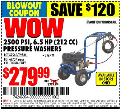 Pressure Washer Coupon Lucky Grocery Coupons Printable