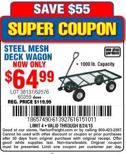 Baja wagon coupon code