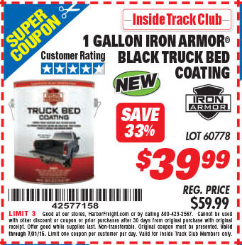 Harbor Freight Truck Bed Liner