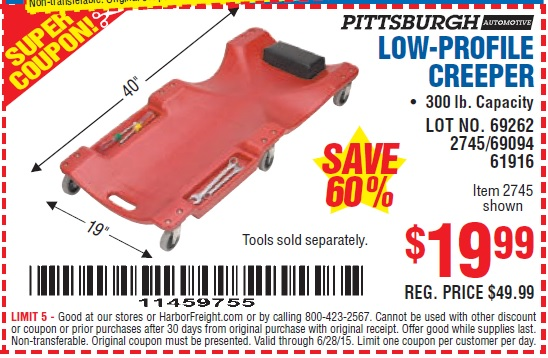 Heber creeper discount coupons