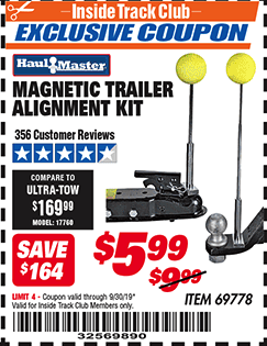www.hfqpdb.com - MAGNETIC TRAILER ALIGNMENT KIT Lot No. 95684/69778
