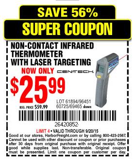 Contact coupons