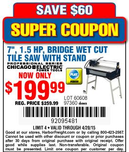 Tile coupon code