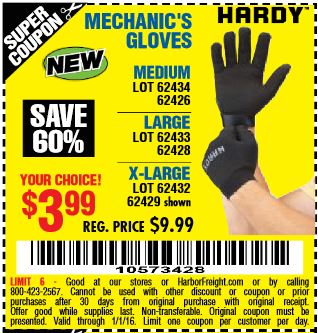 Expired Rico Gloves Coupons