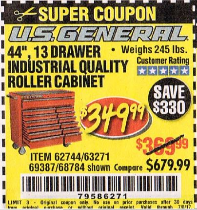 Coupons cabinet