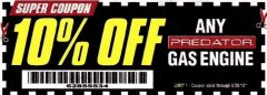 Harbor Freight Coupon 10 percent off coupon expires: 6/30/18