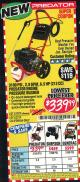 Harbor Freight Coupon 3100 PSI, 2.8 GPM 6.5 HP (212 CC) GAS POWERED PRESSURE WASHERS WITH 25 FT. HOSE Lot No. 62200/62214 Expired: 6/30/16 - $339.99