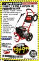 Harbor Freight Coupon 3100 PSI, 2.8 GPM 6.5 HP (212 CC) GAS POWERED PRESSURE WASHERS WITH 25 FT. HOSE Lot No. 62200/62214 Expired: 8/31/17 - $349.99