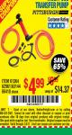 Harbor Freight Coupon MULTI-USE TRANSFER PUMP Lot No. 66418/61364 Expired: 2/4/17 - $4.99
