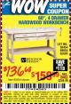 "Harbor Freight Coupon 60"" WORKBENCH WITH FOUR DRAWERS Lot No. 62603/93454/69054 Expired: 7/20/15 - $136.68"