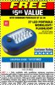 Harbor Freight FREE Coupon LED PORTABLE WORKLIGHT/FLASHLIGHT Lot No. 63878/63991/64005/69567/60566/63601/67227 Expired: 7/10/16 - FWP
