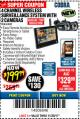 Harbor Freight Coupon WIRELESS SURVEILLANCE SYSTEM 4 CHANNEL WITH 2 CAMERAS Lot No. 62368 Valid Thru: 11/30/17 - $199.99