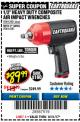 "Harbor Freight Coupon EARTHQUAKE 1/2"" COMPOSITE PRO IMPACT WRENCH Lot No. 62835 Expired: 8/31/17 - $89.99"