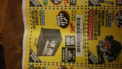 Harbor Freight Coupon .50 CAL METAL AMMO CAN Lot No. 63181/63750 Expired: 6/23/18 - $12.99