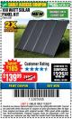 Harbor Freight Coupon 100 WATT SOLAR PANEL KIT Lot No. 63585/64335 Expired: 11/22/17 - $139.99