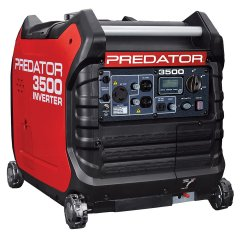 Harbor Freight Coupon PREDATOR 3500 WATT SUPER QUIET INVERTER GENERATOR Lot No. 56720/63584 Expired: 7/1/19 - $699.99