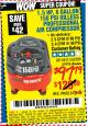 Harbor Freight Coupon 1.5 HP, 6 GALLON, 150 PSI PROFESSIONAL AIR COMPRESSOR Lot No. 62894/67696/62380/62511/68149 Expired: 8/17/15 - $97.79