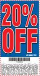 Harbor Freight Coupon 20 percent off coupon expires: 1/31/17