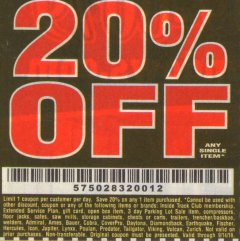 Harbor Freight Coupon 20 percent off coupon expires: 9/14/19