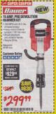 Harbor Freight Coupon 15 AMP PRO DEMOLITION HAMMER KIT Lot No. 63435/63438 Expired: 1/31/18 - $299.99