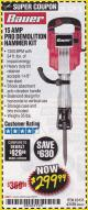 Harbor Freight Coupon 15 AMP PRO DEMOLITION HAMMER KIT Lot No. 63435/63438 Expired: 4/30/18 - $299.99