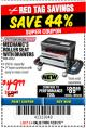 Harbor Freight Coupon MECHANIC'S ROLLER SEAT WITH DRAWERS Lot No. 63762/64548 Expired: 12/31/17 - $49.99