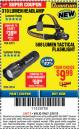 Harbor Freight ITC Coupon 310 LUMEN HEADLAMP Lot No. 63921 Expired: 3/8/18 - $9.99