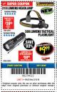 Harbor Freight Coupon 310 LUMEN HEADLAMP Lot No. 63921 Expired: 3/18/18 - $9.99