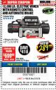 Harbor Freight Coupon BADLAND ZXR12000 12000 LB. OFF-ROAD VEHICLE ELECTRIC WINCH WITH AUTOMATIC LOAD-HOLDING BRAKE Lot No. 64045/64046/63770 Expired: 3/18/18 - $289.99