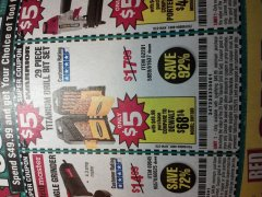 Harbor Freight Coupon $5 WARRIOR 29 PIECE TITANIUM DRILL BIT SET WHEN YOU SPEND $49.99 Lot No. 62281, 5889, 61637 Expired: 12/25/19 - $5