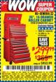 "Harbor Freight Coupon 26"", 16 DRAWER ROLLER CABINET Lot No. 67831/61609 Expired: 5/31/17 - $299.99"