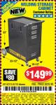 Harbor Freight Coupon WELDING STORAGE CABINET Lot No. 61705/62275 Expired: 8/24/15 - $149.99