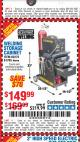 Harbor Freight Coupon WELDING STORAGE CABINET Lot No. 61705/62275 Expired: 4/20/17 - $149.99
