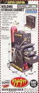 Harbor Freight Coupon WELDING STORAGE CABINET Lot No. 61705/62275 Valid Thru: 5/31/17 - $149.99