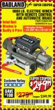Harbor Freight Coupon 9000 LB. ELECTRIC WINCH WITH REMOTE CONTROL AND AUTOMATIC BRAKE Lot No. 61346/61325/62596/62278/68143 Valid Thru: 9/11/17 - $249.99