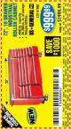 Harbor Freight Coupon 72 IN. 18 DRAWER GLOSSY RED INDUSTRIAL ROLLER CABINET Lot No. 61656 Expired: 8/15/16 - $999.99