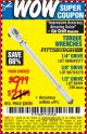 Harbor Freight Coupon TORQUE WRENCHES Lot No. 2696/61277/807/61276/239/62431 Expired: 8/25/15 - $9.99