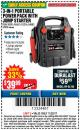 Harbor Freight Coupon 3-IN-1 PORTABLE POWER PACK WITH JUMP STARTER Lot No. 38391/60657/62306/62376/64083 Expired: 11/22/17 - $39.99
