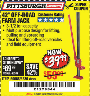 Harbor Freight 42