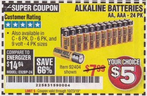 www.hfqpdb.com - ALKALINE BATTERIES Lot No. 92405/61270/92404/69568/61271/92406/61272/92407/61279/92408