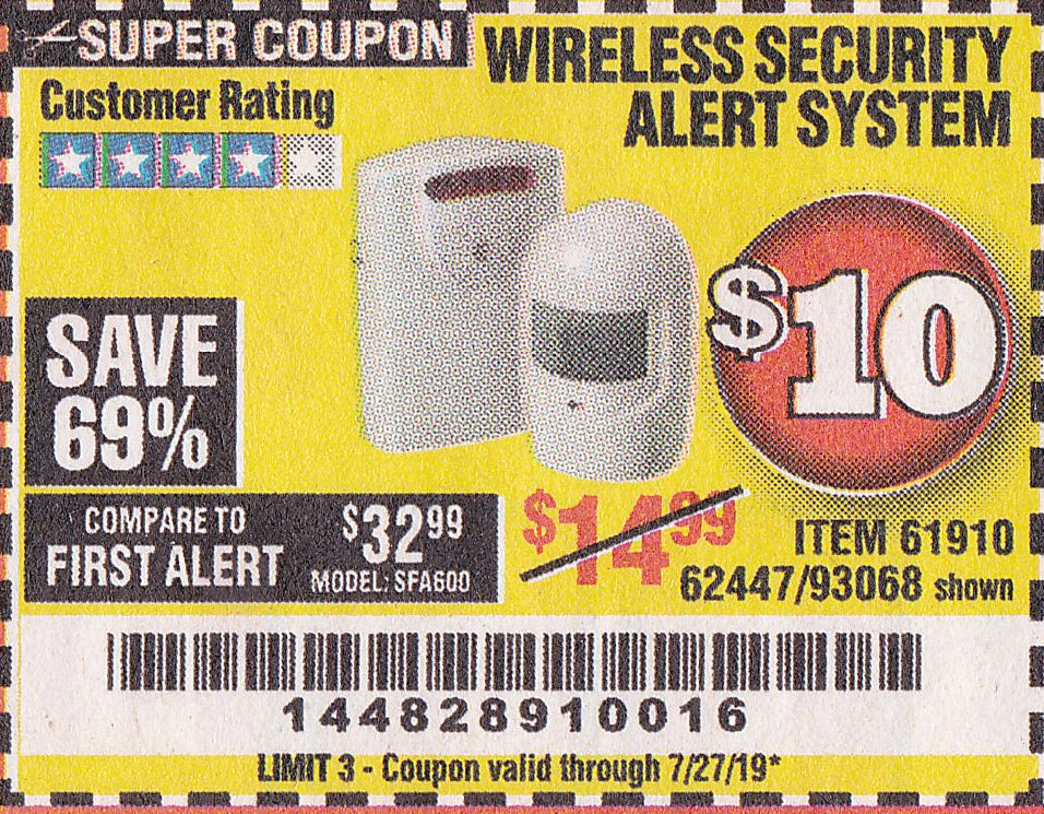 www.hfqpdb.com - WIRELESS SECURITY ALERT SYSTEM Lot No. 93068/69590/61910/62447