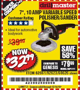 Harbor Freight 7