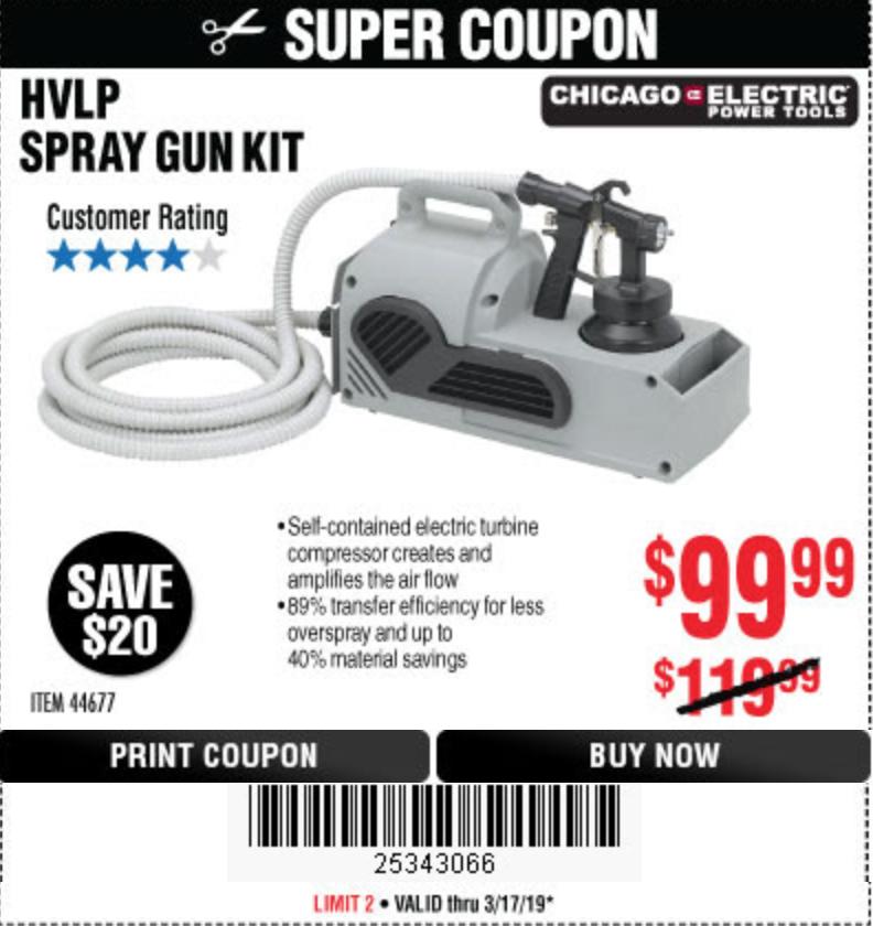 Re: HF $90 spray gun kit