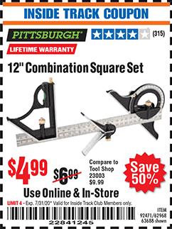 Combination square harbor freight porsche phone holder