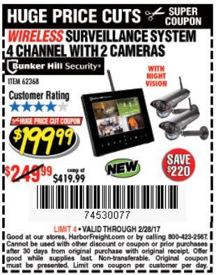Harbor Freight Cobra Wireless Surveillance Camera