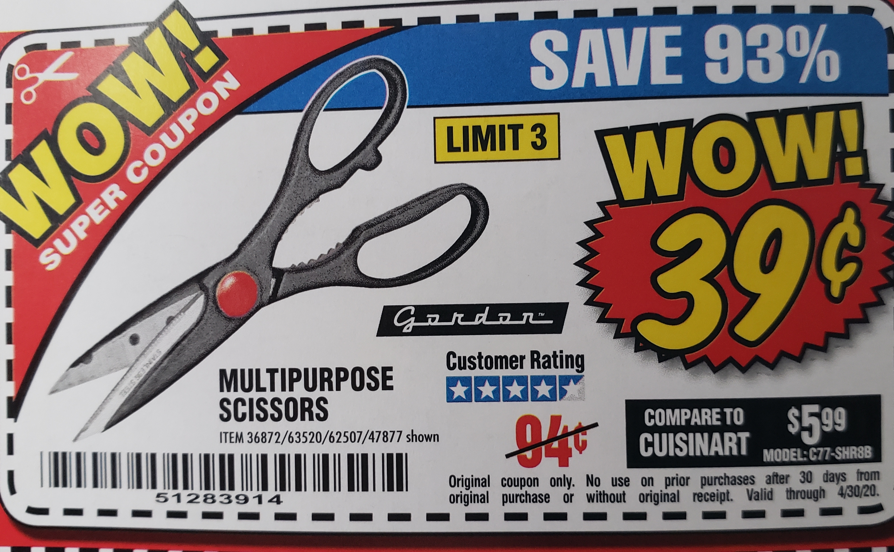 www.hfqpdb.com - MULTIPURPOSE SCISSORS Lot No. 36872/47877/67405/60274/62507